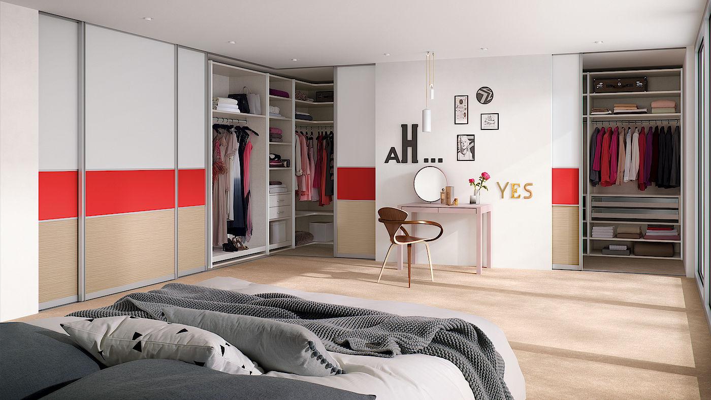 Спальня с гардеробной комнатой: фото дизайна и советы по оформлению