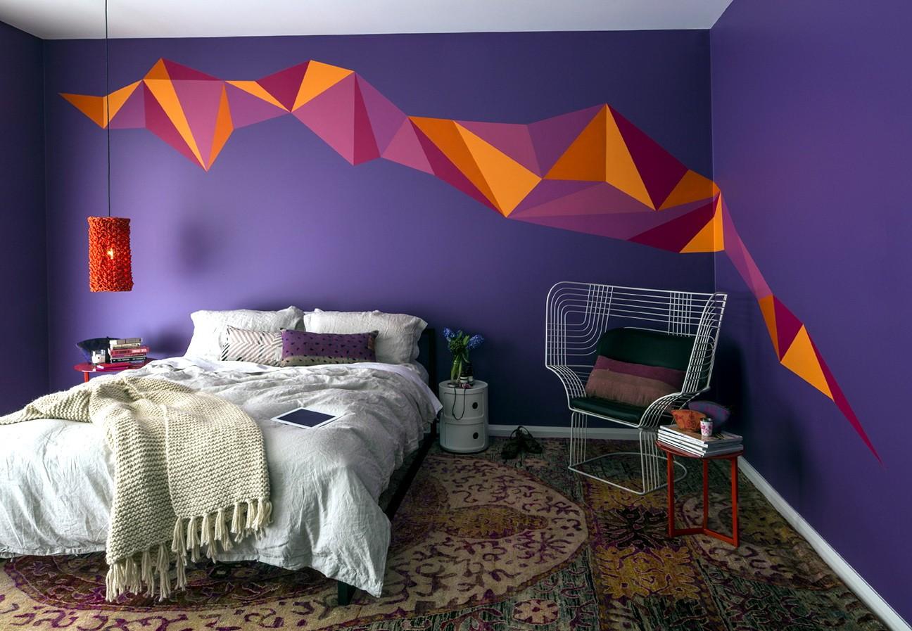 Преимущества покраски стен и варианты оформления цветом