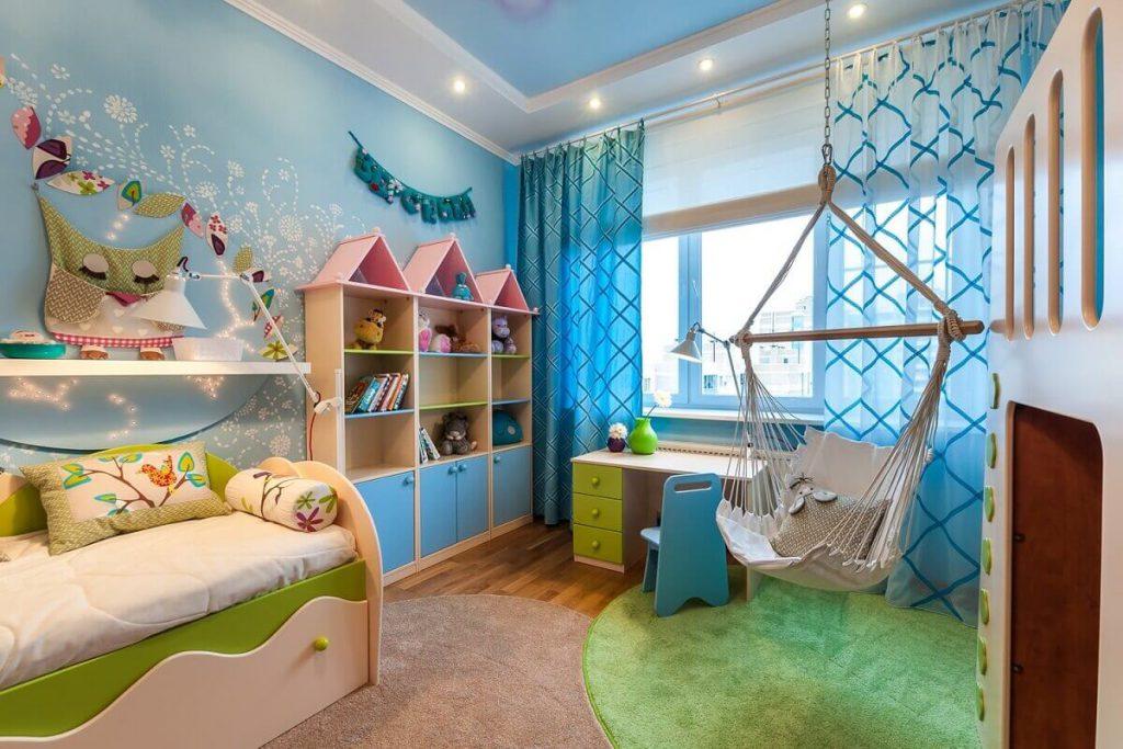 Обустройство и создание дизайна детской комнаты 12 кв м: практические приемы