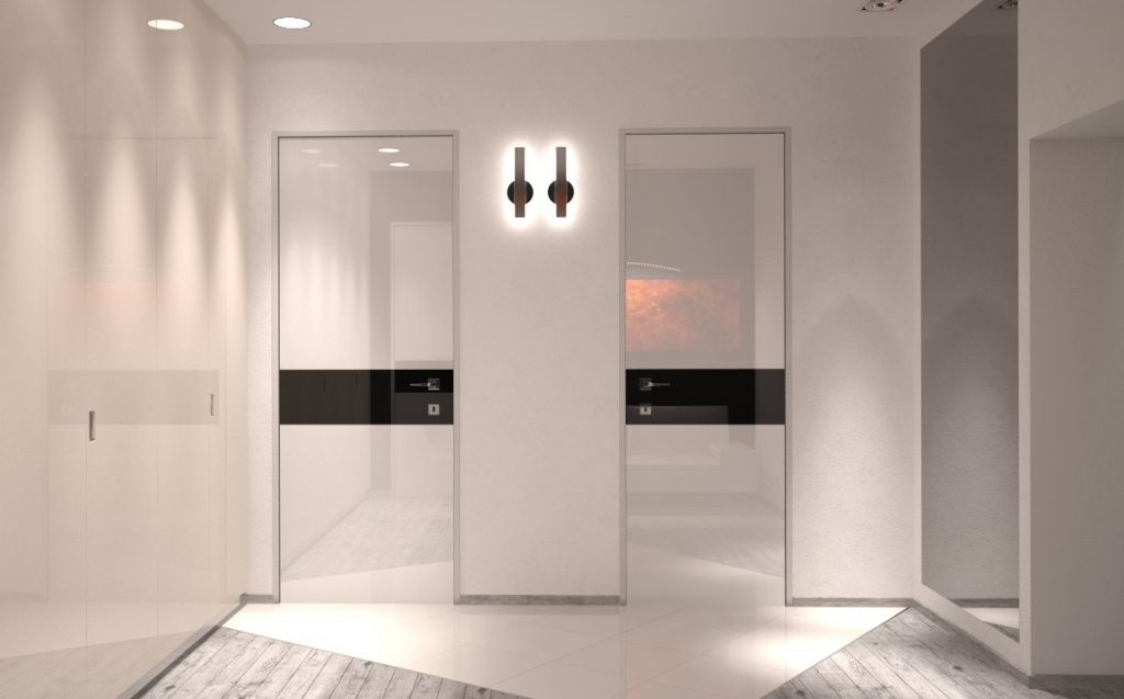 Белые двери в современном дизайне