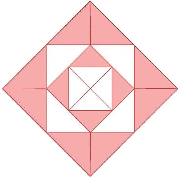 Схема пэчворк русский квадрат