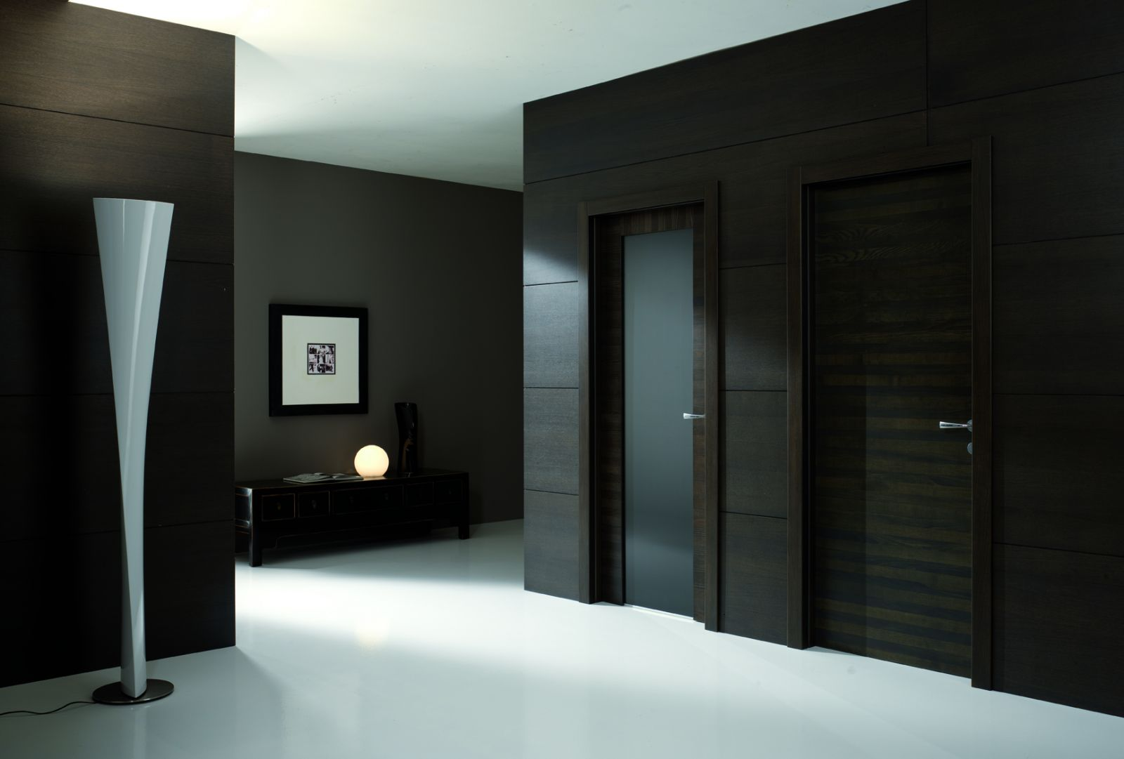 черное стекло