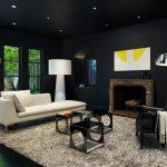 Стильный акцент: как использовать черный цвет в интерьере