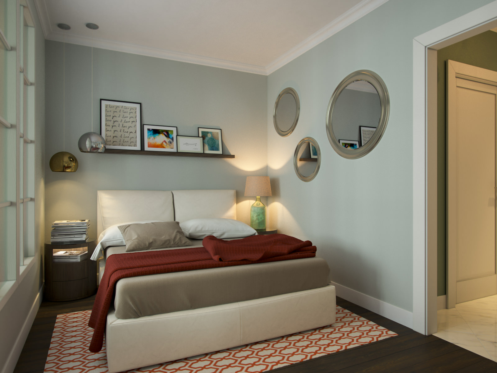 Как сделать маленькую комнату визуально просторнее?