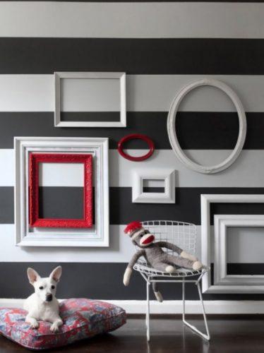 Как украсить пустую стену - 70 фото идей по дизайну
