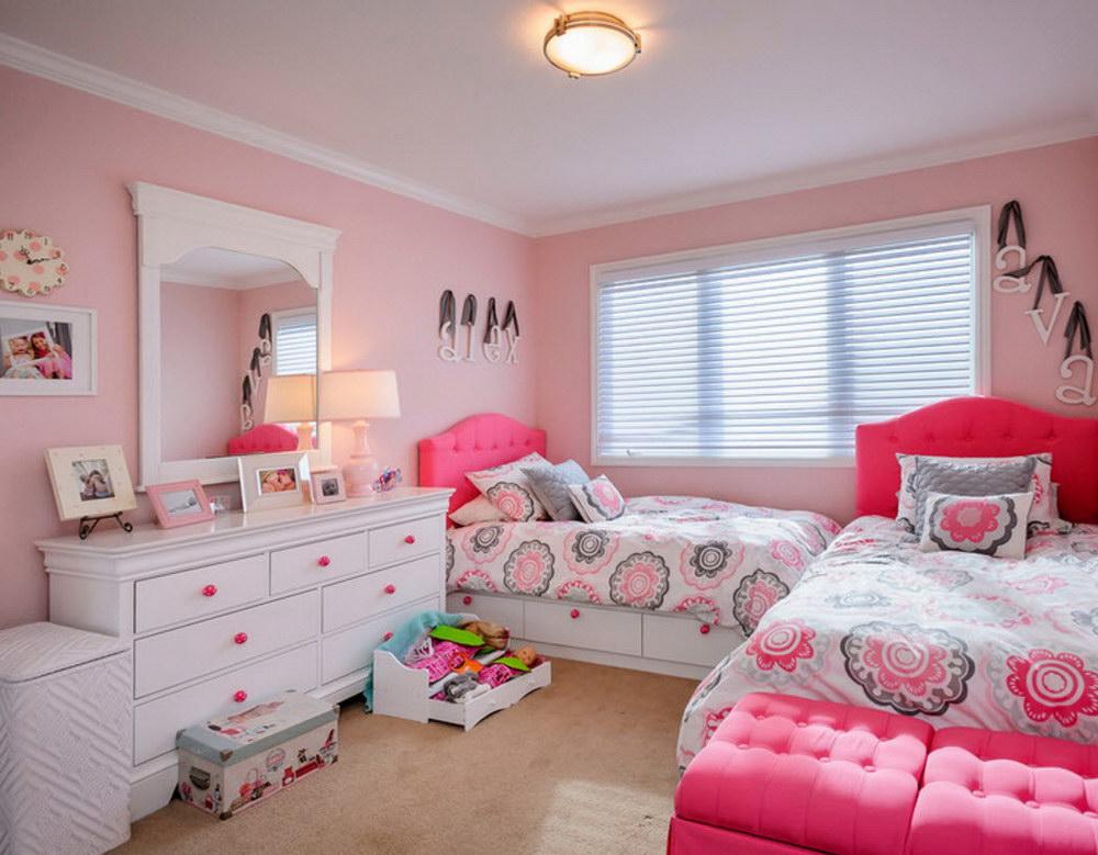 """Детская комната по мотивам """"Свинки Пепы"""""""