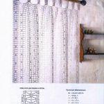 Как связать штору крючком: популярные техники для начинающих (+50 фото)