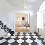 Креативное использование шахматной доски в интерьере