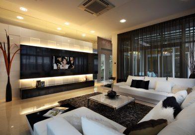 Оформление места для телевизора: 7 отличных идей