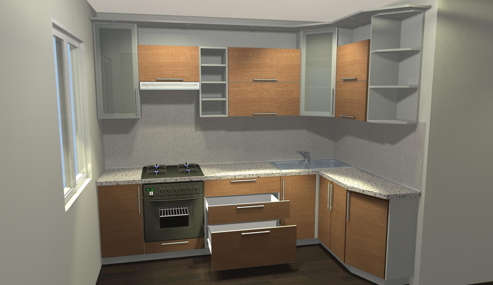 Как освежить старый кухонный гарнитур своими рукам [советы от дизайнера]