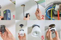 Подключение точечных светильников своими руками видео