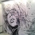 Роспись стен своими руками: выбор и размещение рисунка