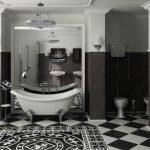 10 топовых черных ванных комнат - тренд 2019 года