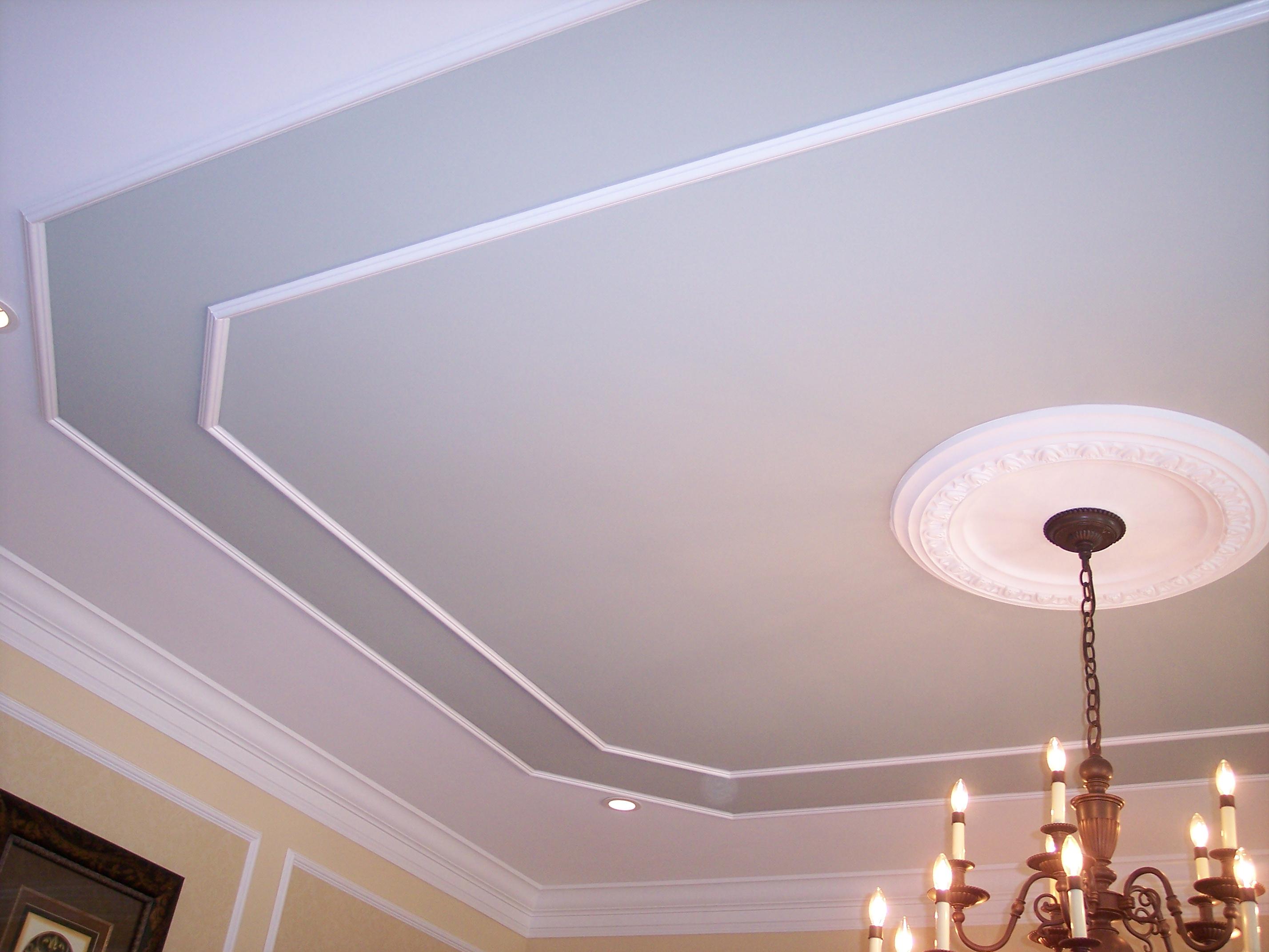 ТОП необычных материалов для отделки потолка