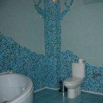 Какие есть альтернативы плитке в ванной комнате?