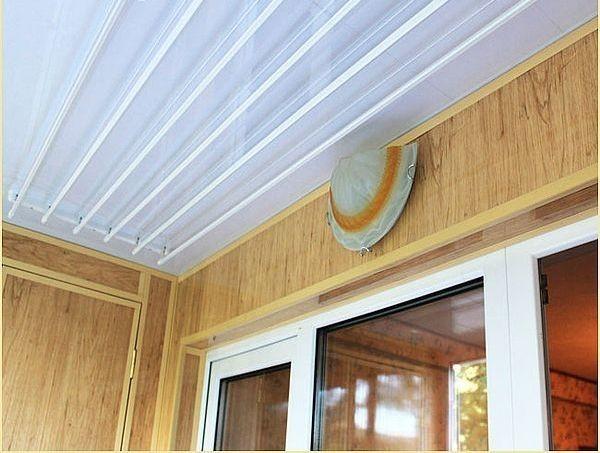 Веревки на балкон: виды и монтаж (фото)