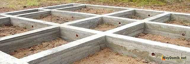 Как сделать мелкозаглубленный ленточный фундамент своими руками. Строительство и расчет фундаментов мелкого заложения для дома