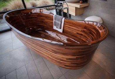 Новинка 2019: деревянная ванна [описание+фото]