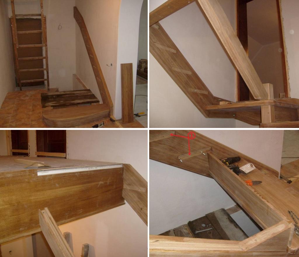 Как сделать лестницу на тетивах