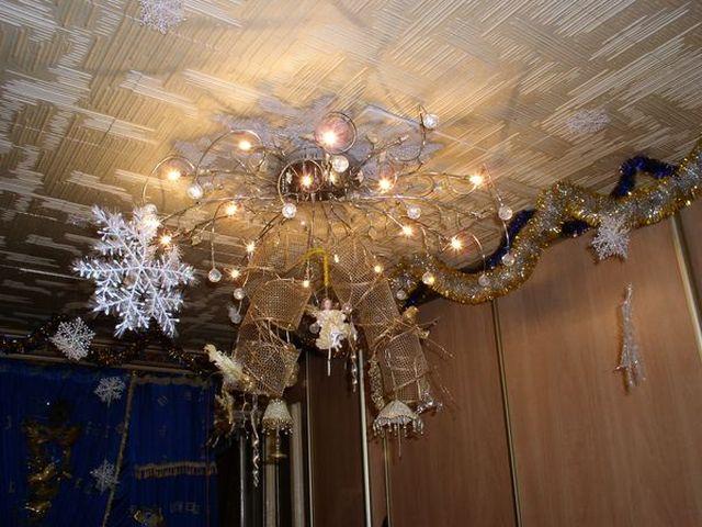Как украсить комнату на новый год, новогодний дизайн квартиры своими руками