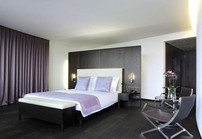 Спальня в стиле хай тек: оформление дизайна