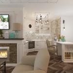 Кухня - гостиная в стиле кантри: как правильно оформить интерьер