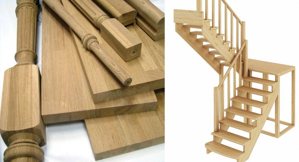Материалы для изготовления лестницы