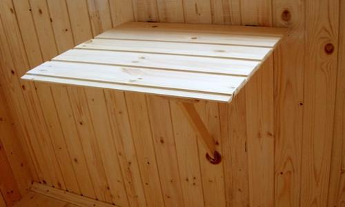 Откидной столик на балкон своими руками: схемы (фото и видео)