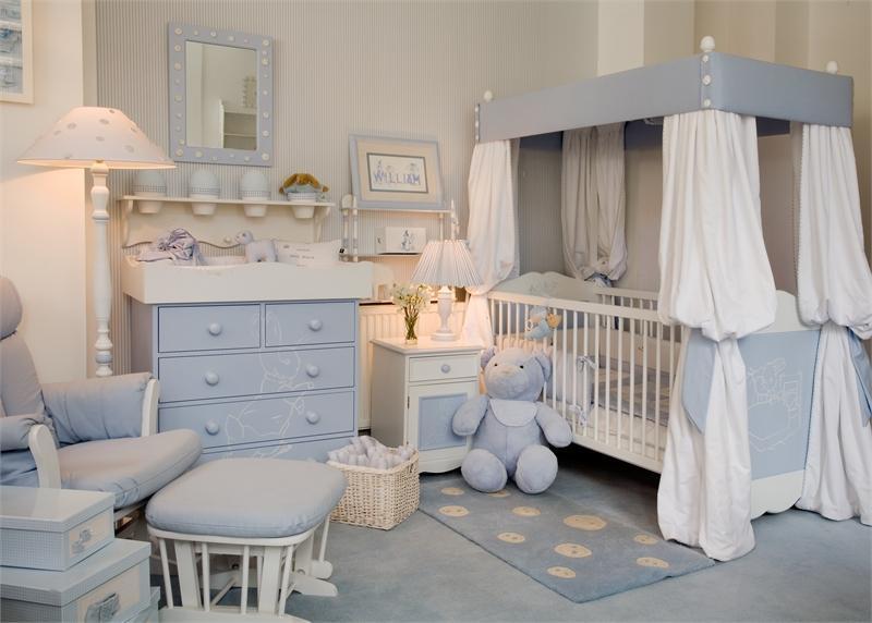 Как вписать балдахин для детской кроватки в интерьер комнаты