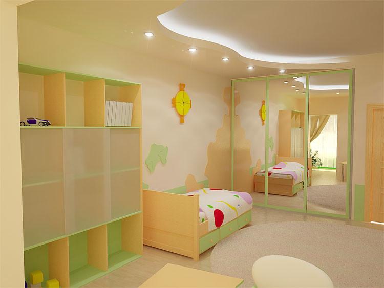 Украсить детскую комнату своими руками: идеи