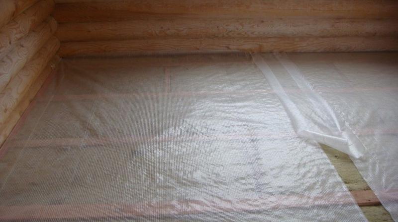 Пароизоляция для пола в деревянном доме: порядок укладки