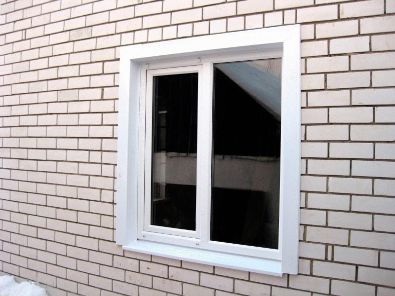 Наружные откосы для пластиковых окон своими руками (фото)