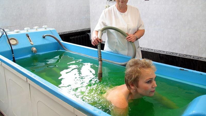 Что дают радоновые ванны