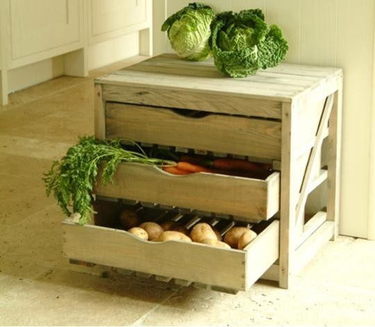 Ящик для картошки на балконе своими руками (фото)