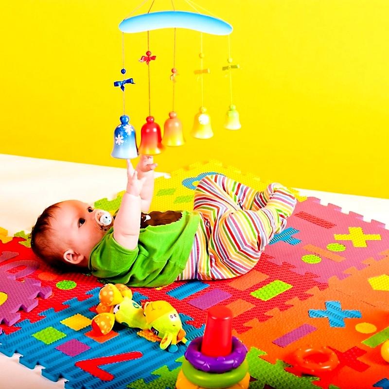Мягкий коврик-пазл для детей