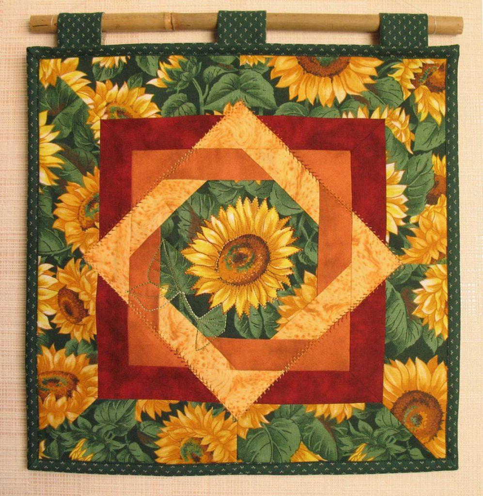 Панно из ткани в стиле модерн