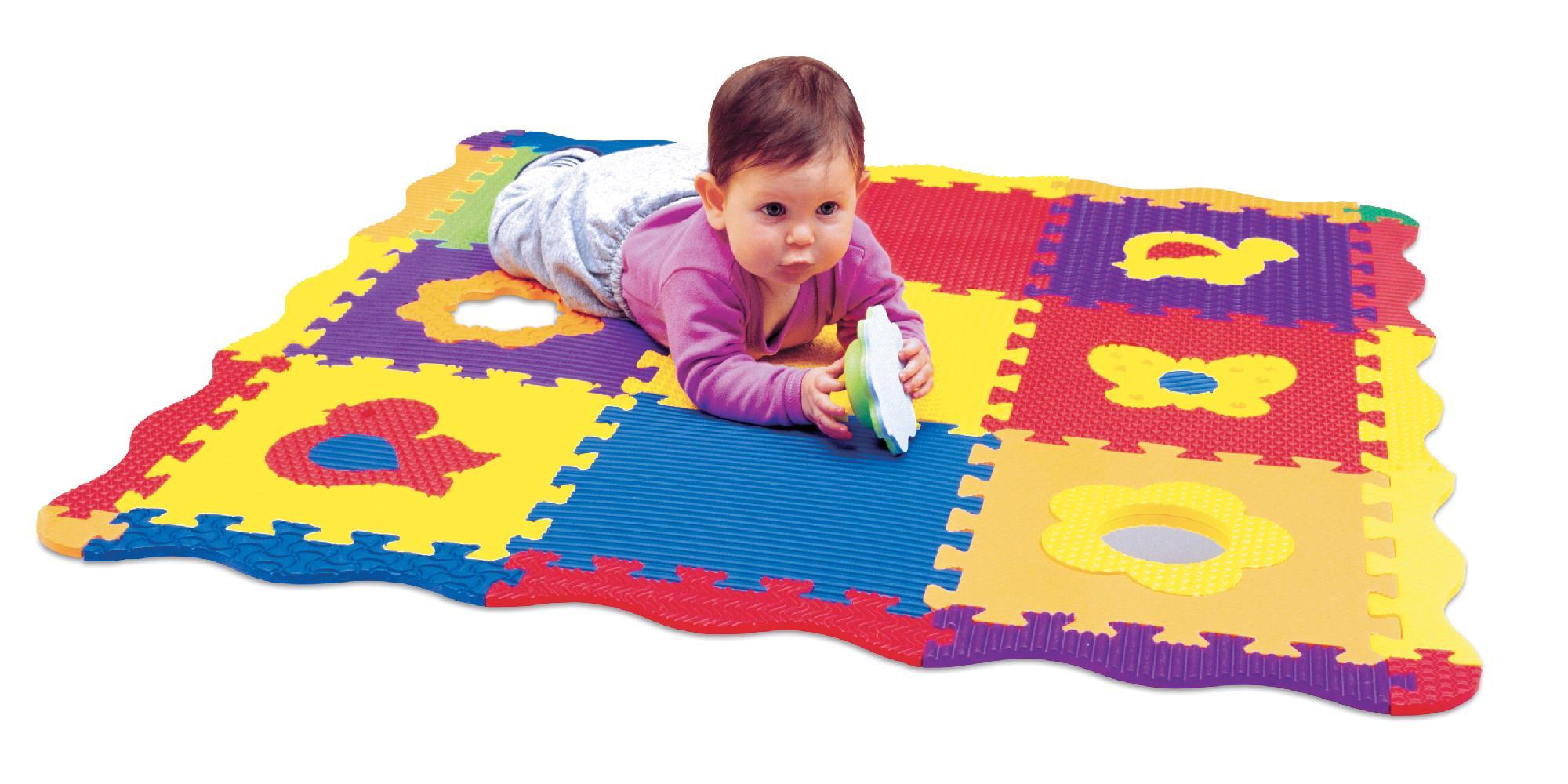 Детский коврик-пазл: в чем его преимущества и какой лучше выбрать?