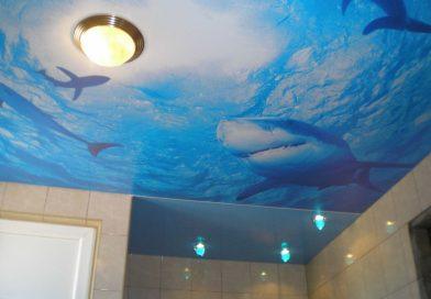 Все «за» и «против» натяжного потолка в ванной: кто победит?