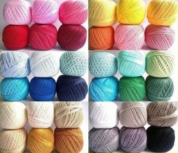 Пряжа для вязания штор