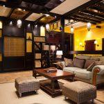 Оформление гостиной в этностиле