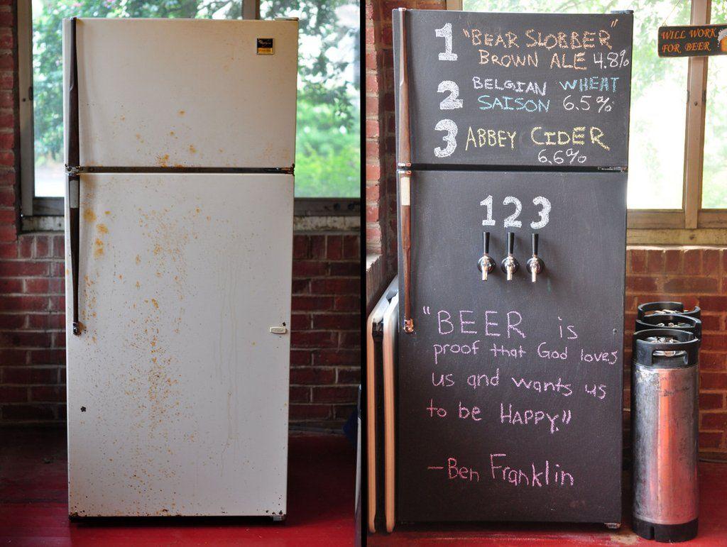 Как освежить старый холодильник?