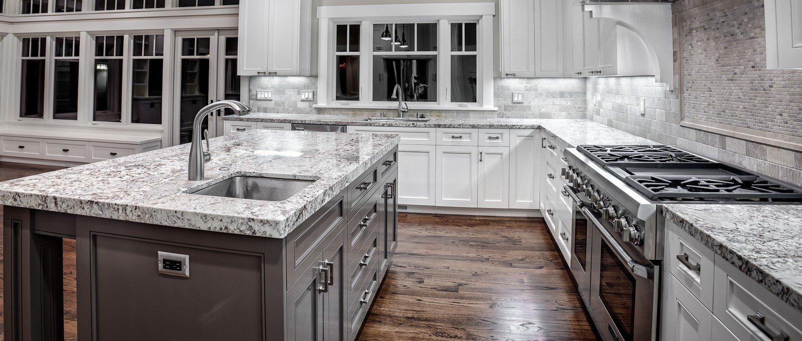 Как выбрать кухонную столешницу - модную но практичную?