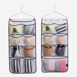 Тканевые кармашки: отличный органайзер для маленькой спальни