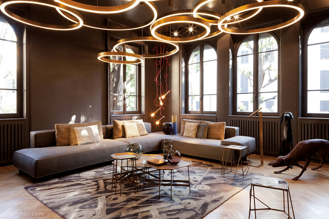 Трендовые люстры для гостиной в 2019 году