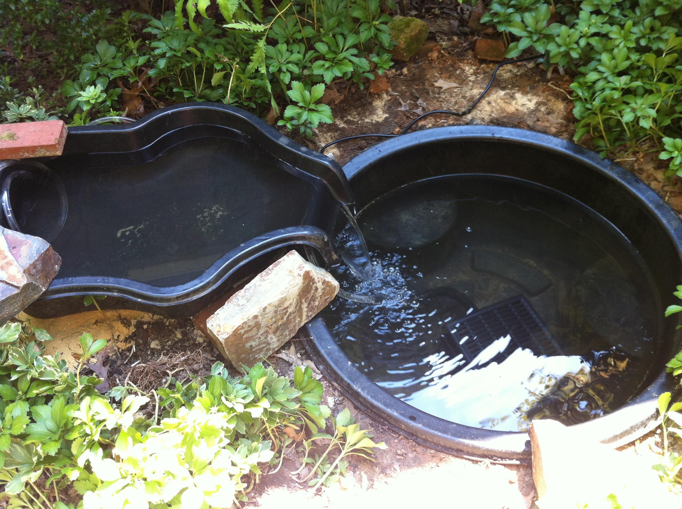 Украшаем участок: искусственный водоем своими руками