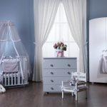 Как влияет цвет детской кроватки на малыша?