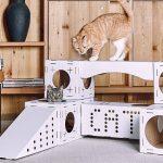 Как выбрать стильный кошачий домик для любимой кисы?