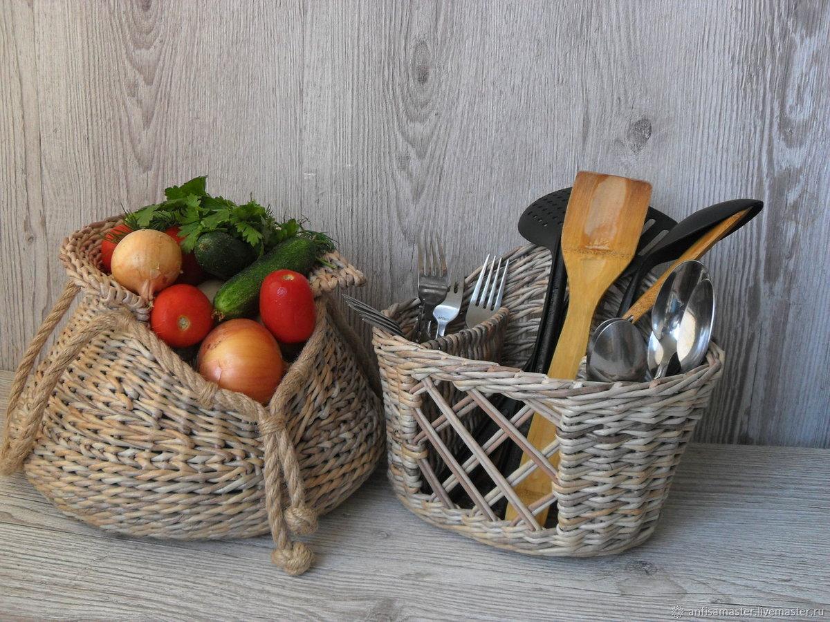 5 классных способов использования корзинок в квартире