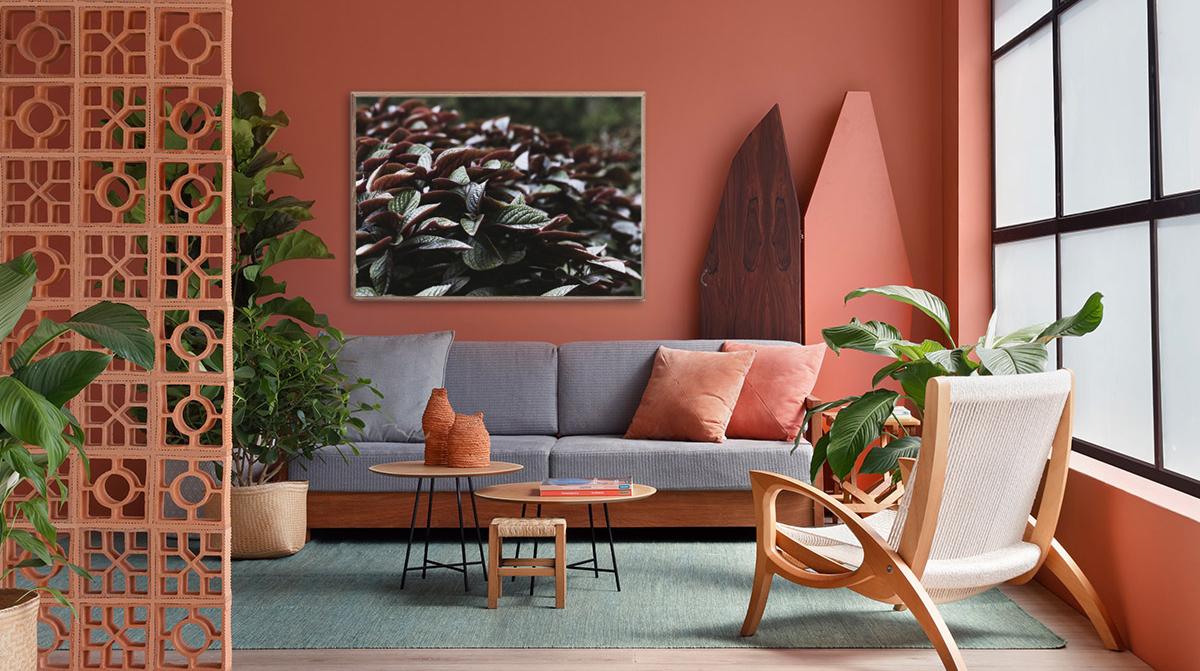 Цвет года 2019 - живой коралл [варианты использования в интерьере]