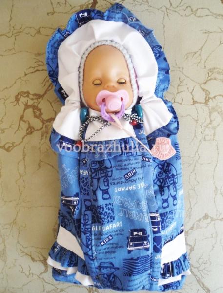 Конверт для куклы своими руками: выкройки для Беби Бон